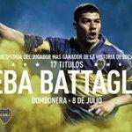¿Querés ir a la despedida de Seba Battaglia en la Bombonera? Seguinos en @C5N y escribí #MiEntradaBattagliaC5N http://t.co/gYRFXWnphZ