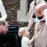 Prince George COMPLETELY stole the show at Princess Charlottes christening today: http://t.co/qbTRL1sA59 http://t.co/FCoXI8W13n