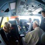 Cada vez más cerca @Pontifex_es de Ecuador. #FranciscoEnEcuador http://t.co/uFbnrmW76n