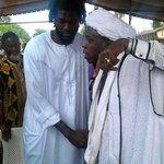 Takbeer Emmanuel Adebayor took his Shahadah today in Togo. http://t.co/OQxQEsgOoz