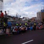 """""""@magrazziaacosta: El carril de la Ecovía esta con mallas. La circulación continúa normal #FranciscoEnEcuador http://t.co/eRweailUcR"""