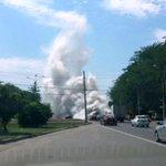 В Ростове загорелся автобус, густым дымом заволокло всю проезжую часть #Ростов #ЧП http://t.co/NhyZ4biWfs http://t.co/hY2HjxBKk6