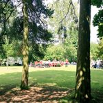 Barnsley Brass Band in #meanwood park #leeds @LeedsParks enjoy the sun http://t.co/NAxbf3abIG