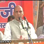 Home Minister Rajnath Singh addressed a rally in Farrukhabad (Uttar Pradesh), earlier today. http://t.co/2SW5ug463T