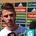 """""""Real Madrid? I have to return to Manchester for pre-season"""". - David de Gea (Source: http://t.co/sKgagOGg7R) http://t.co/bvbVnR33V2"""