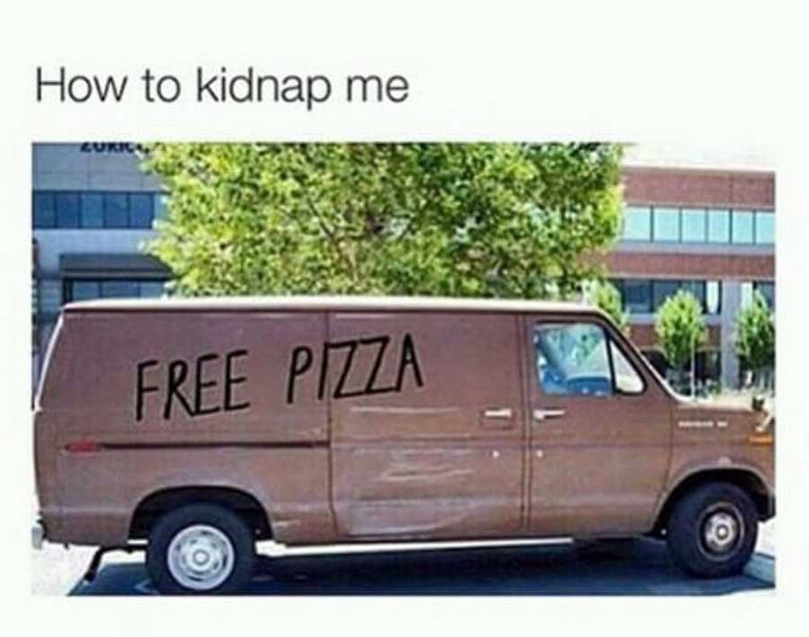 How to kidnap me.