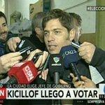 #Elección2015 Vota @Kicillofok en la Escuela N°27 Petronila Rodríguez de Parque Chas [EN VIVO] http://t.co/yfZTjOMgwN http://t.co/E0ku7RHzLv