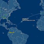 El avión de @Pontifex_es se acerca al Caribe. Sigue su llegada desde las 14:00 en vivo #FranciscoEnEcuador http://t.co/osaMqyMHu6
