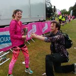 Our first #RaceForLife wedding proposal in the North West! Congratulations Tom and Fran! #Liverpool http://t.co/ZzpLH1Bh2o