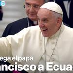 El Papa llega a las 15:00 al aeropuerto de Quito » http://t.co/JQKx0xIsnh #FranciscoEnEcuador http://t.co/DDNIJHoZFB