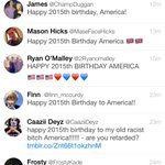 Happy 2015th Birthday America http://t.co/K2rRHLM998