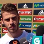 """Real Madrid? I have to return to Manchester for pre-season"". - David de Gea (@Squawka) http://t.co/uRukuGIMJ9"