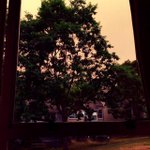Eerie #vancouver morning with #orangesky from #Secheltfire. #BCwildfire http://t.co/7inVVHHQ2b