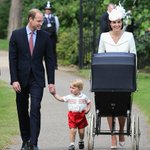 PICTURED: Prince William & Kate arrive for Princess Charlottes christening http://t.co/KamsSusNkC http://t.co/Yh5kTsBuhW