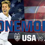Good luck to the @ussoccer_wnt in the final match vs. Japan. #OneMore #USA http://t.co/tlf4qYZA5T