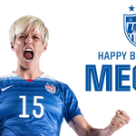 How @mPinoe reacted when she found out the World Cup Final would be played on her birthday... Happy birthday, Pinoe! http://t.co/N64MGwFM2l