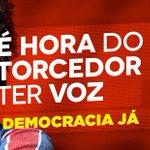 Antes podia vaiar, reclamar, protestar e hj não pode nada? Democracia de conveniência? O torcedor tem voz... http://t.co/Ma5UF0kEQv