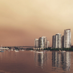 Forest fires taking over #vancouver skies. http://t.co/JYsikpJJ7L