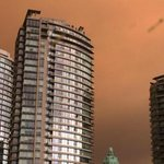 Smoky skies from wildfires snapped by residents in Vancouver http://t.co/utq6szVbci http://t.co/RXmrjXugev