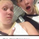 #TB to Lancaster with our tradition of post game selfies and mirror pics and selfies with the Amish @megan_weid #AAU http://t.co/sZE4WJLywt