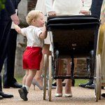 Hello Charlotte! Photos from the #RoyalChristening fm @TelegraphPics (AFP/Getty) #PrinceGeorge http://t.co/hsdnyH5X3l http://t.co/uUk4Fj6dtz