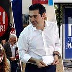 Griechen-Referendum: Erste Prognosen sehen Vorsprung für Nein-Lager http://t.co/fkmNWlyJRt http://t.co/u5TOnYOPeZ