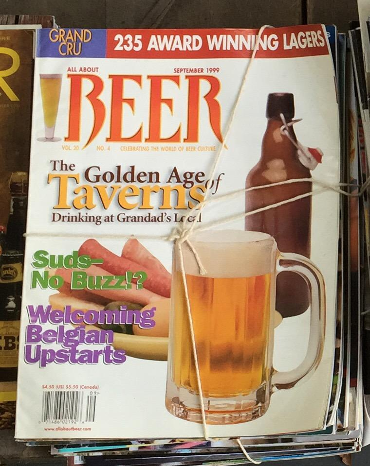 Found this old one in the archives.  Check out the @allaboutbeer logo! http://t.co/cIpOseWBrc