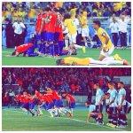 #FelizDomingo que orgullo ver esta foto :) #ChileCampeonDeAmerica http://t.co/tuEwd7flPw