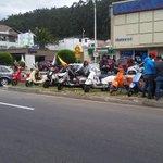 Grupos de moticiclistas se organizan para recibir al Papa en la avenida Granados. http://t.co/bwd7Xqy8TK vía @santiagomolinao #Quito