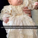 EXCLUSIVE: princess Charlottes opinion on her christening http://t.co/ZzHqPNBgKv