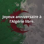Happy 5th of July. Happy independence day. God Bless Algeria. @NawalElZoghbi http://t.co/lchURqa5uV