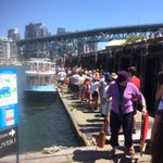 Allow extra time to travel by ferry today. It is another busy day on #FalseCreek #FIFAWWC final today @bcplace http://t.co/AizQdbi50l