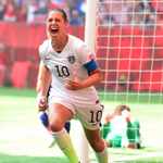 Carli Lloyd scores the very first hat-trick in Womens World Cup final history inside 16 minutes. Extraordinary. http://t.co/8VLZPF02rc