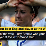 You voted in your thousands and chose #ENGs Lucy Bronze as your winner. Could this be why? http://t.co/a8JiVGWzgx http://t.co/9eqRVoFEvA