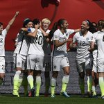 Carli Lloyd is 1st American to ever score in 4 straight Women's World Cup games. http://t.co/1KNeyV6VtZ