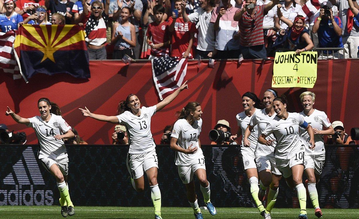 HAT-TRICK! @CarliLloyd scores from the halfway line! #USA 4-0 #JPN  #FIFAWWCFinal #USAJPN http://t.co/8EQi4Kco7w http://t.co/NM2ubs612w