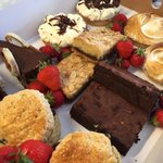.@GrabYourSpoon @markmcnulty Heres our humble #afternoontea effort #Liverpool #Madeoutofcakes Booking essential! ???????????? http://t.co/v516k5kSMU