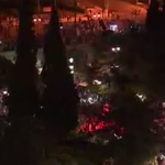 WATCH LIVE: 'NO' (#OXI) voters rally in Athens for projected #Grefenderum victory https://t.co/PeEdmG6QX3 http://t.co/eTJyeqpBRI
