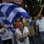 Greek voters appear poised to reject bailout offer from Europe and IMF. http://t.co/5e9HUocc0b http://t.co/JvVVtZru4d