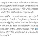 UK Green party MP @CarolineLucas – #greekreferendum a decisive vote against austerity http://t.co/ZESdpJtMiU http://t.co/LFBmUwEJBs