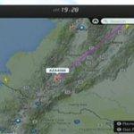 El avión del @Pontifex_es se acerca a Quito, sígalo en vivo a través de http://t.co/N7lEPrrMb4 #ElPapaEcuavisaYyo http://t.co/NZBnrXD8n2