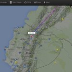 #BienvenidoFrancisco | El avión de #ALitalia vuela en territorio nacional. En minutos llegará al aeropuerto de #Quito http://t.co/a4svslh53F