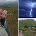 Were so lucky: Pals pose for selfie on mountain - minutes later lightning struck killing 2 http://t.co/VNMDPgHwvs http://t.co/rKXqzlN1ST