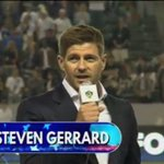 """""""I cant wait to get me boots on."""" Watch Steven Gerrard address the LA Galaxy fans: http://t.co/TgCi4R012T http://t.co/f6QZkaSFcE"""