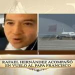 Desde el interior del avión transmite @rhernandeztv. #PapaFrancisco. #ElPapaEcuavisaYyo http://t.co/MzKuhGyn2X http://t.co/sYCXiFgfXH