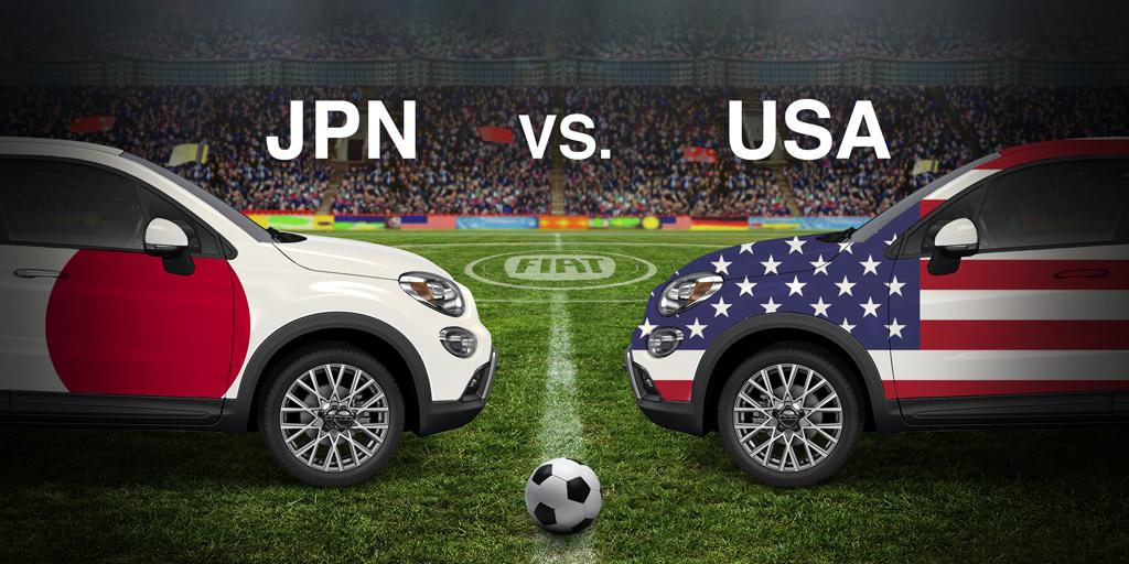 #USA & #JPN are about to get down & dirty in this historic rematch. Who will have their name on the trophy? #USAvJPN http://t.co/m7o6vrFJRF