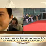 Desde el interior del avión transmite @rhernandeztv. #ElPapaEcuavisaYyo: http://t.co/MzKuhGyn2X http://t.co/S2ir8TI1kM