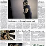 Mondays International NY Times: Greek voters lean toward rejection of bailout deal #tomorrowspaperstoday #bbcpapers http://t.co/rLfQ8G8hwt