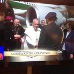 #ElPapaEcuavisaYyo #PapaFrancisco llegó a #Ecuador #CoberturaPapal de @ecuavisa http://t.co/sQ2jp3xyIp