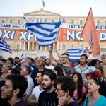 """Greece votes """"No"""" on referendum, and possibly the eurozone as well http://t.co/HPs8LgOuY0 #greekreferendum http://t.co/ARZif1BK48"""